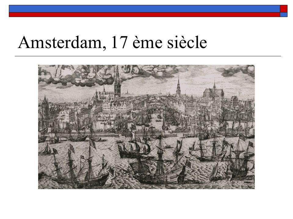 Amsterdam, 17 ème siècle