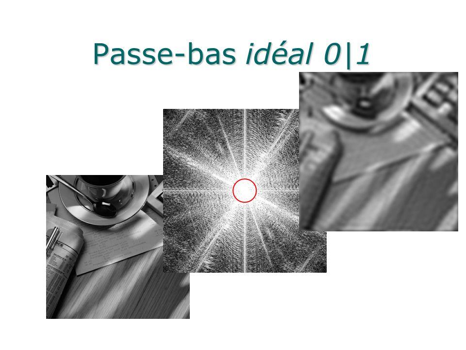 Passe-bas idéal 0|1