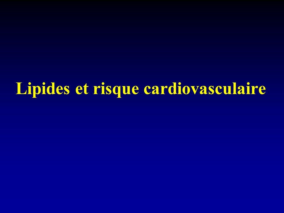 Lipides et risque cardiovasculaire