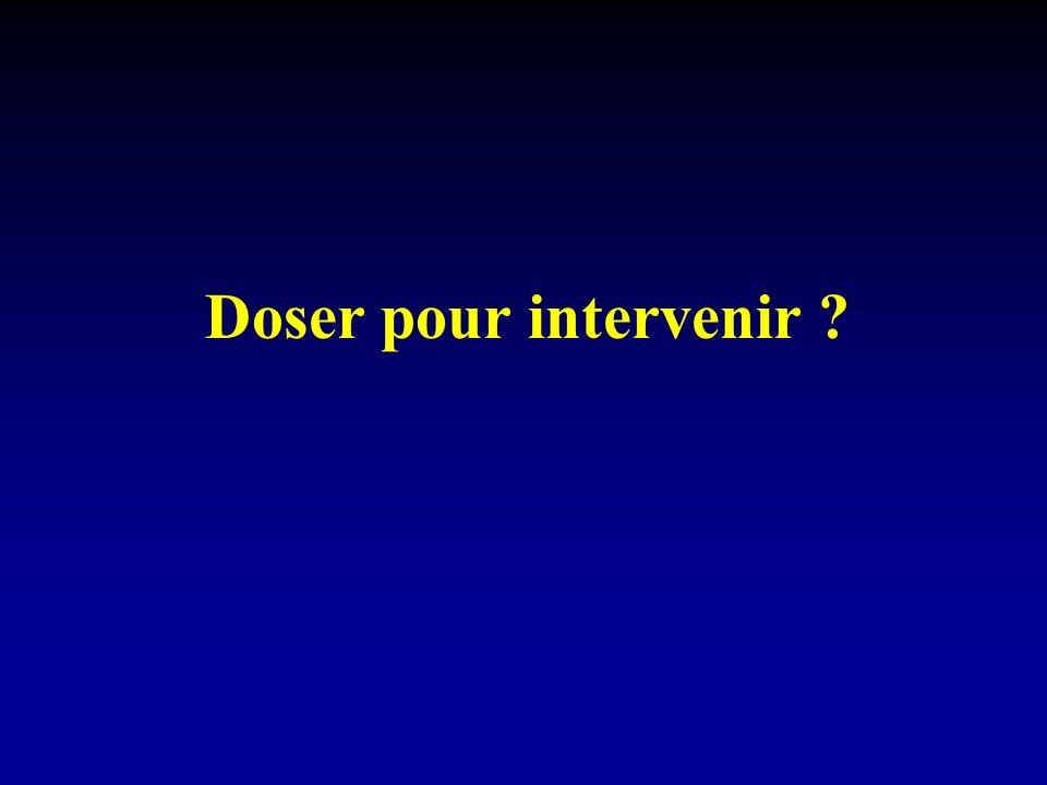 Doser pour intervenir
