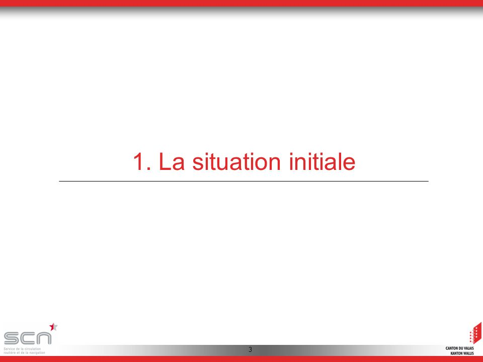 3 1. La situation initiale