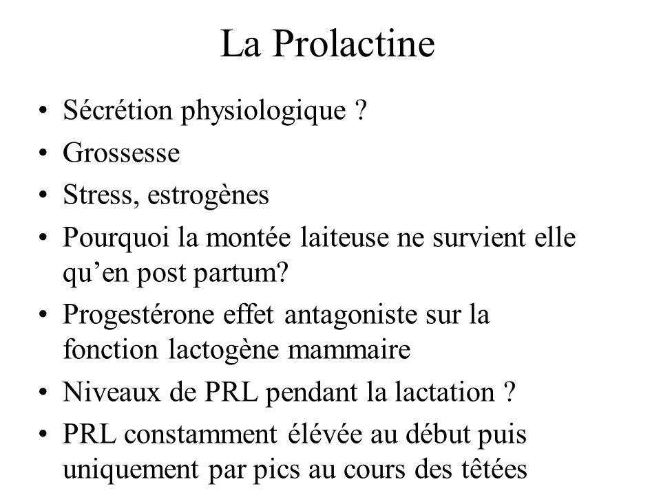 Sécrétion physiologique .