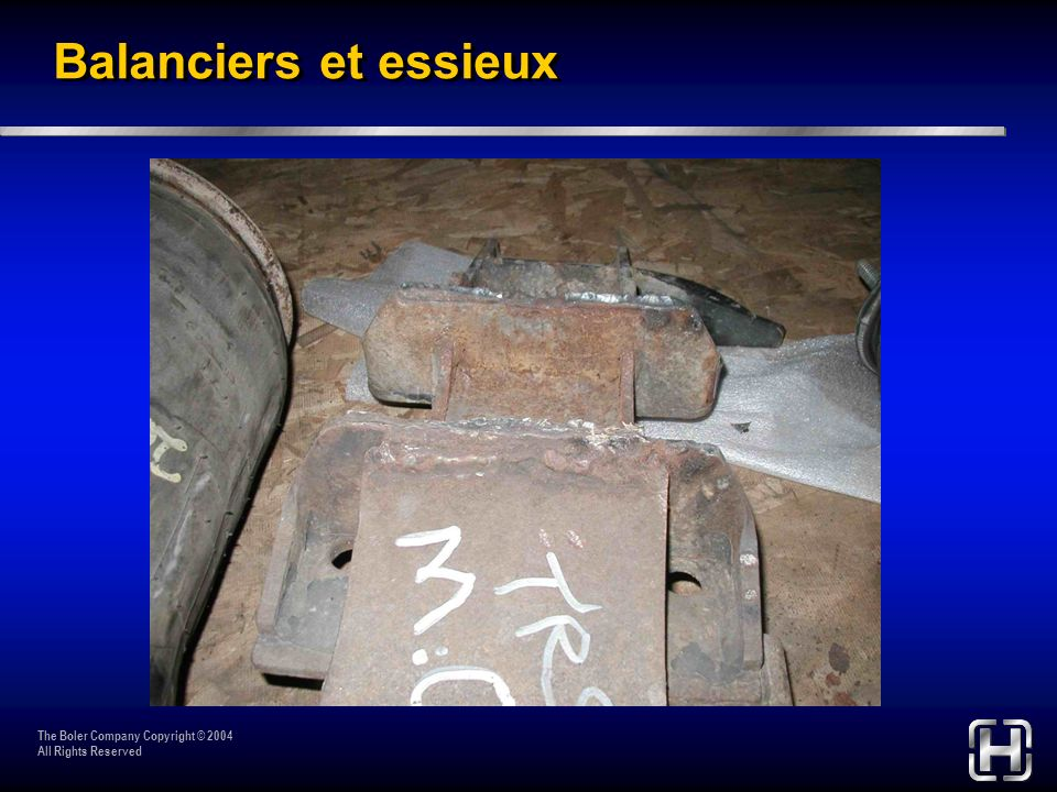 The Boler Company Copyright © 2004 All Rights Reserved Beams & Axle