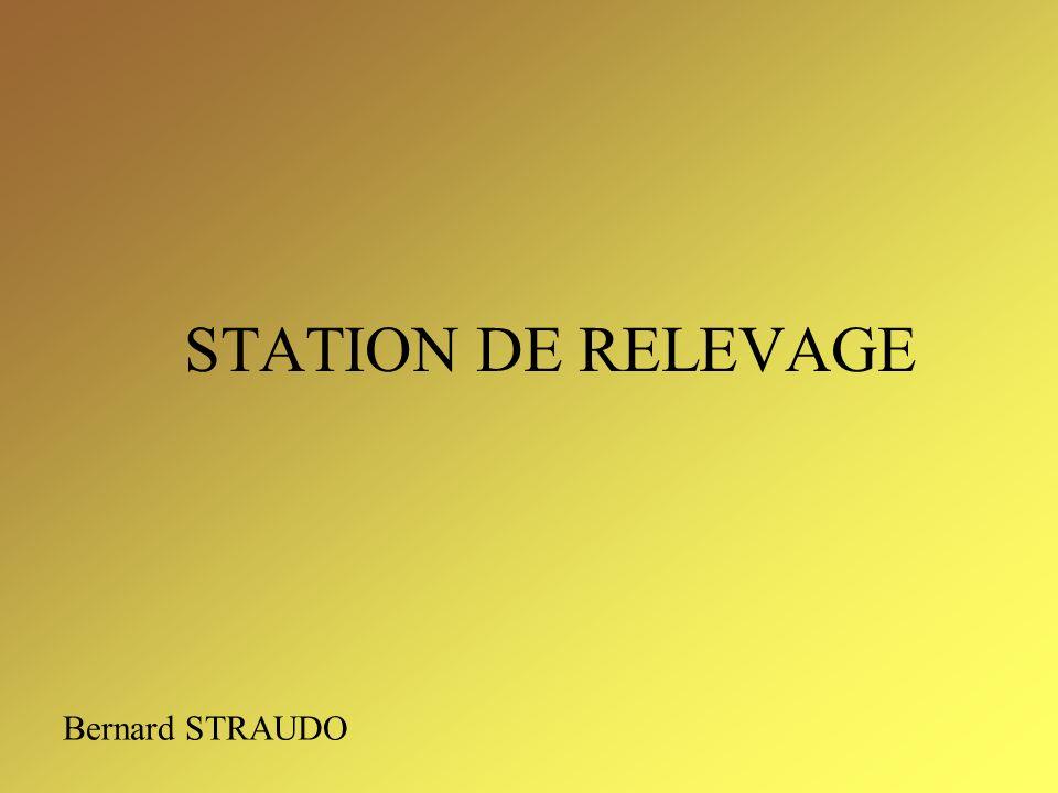 STATION DE RELEVAGE Bernard STRAUDO