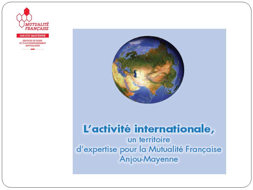 LEurope Le Réseau Francophone en Déficience Sensorielle et du Langage (Québec) LAfrique Lactivité internationale à la MFAM