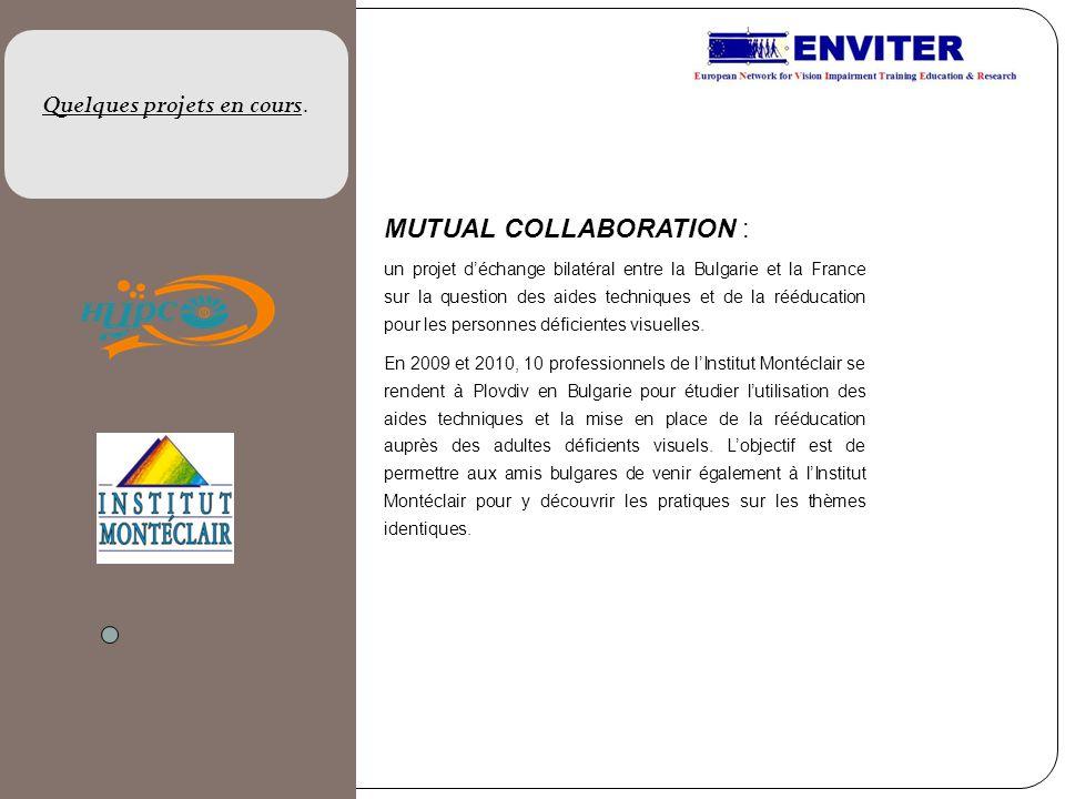 MUTUAL COLLABORATION : un projet déchange bilatéral entre la Bulgarie et la France sur la question des aides techniques et de la rééducation pour les