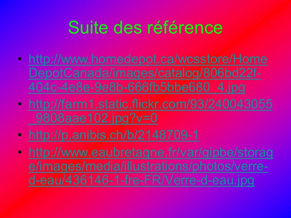 Suite des référence http://www.homedepot.ca/wcsstore/Home DepotCanada/images/catalog/806bd22f- 404c-4e8e-9e8b-666fb5bbe680_4.jpghttp://www.homedepot.c
