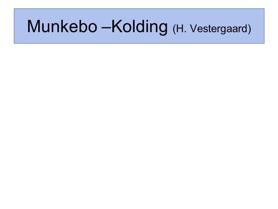 Munkebo –Kolding (H. Vestergaard)