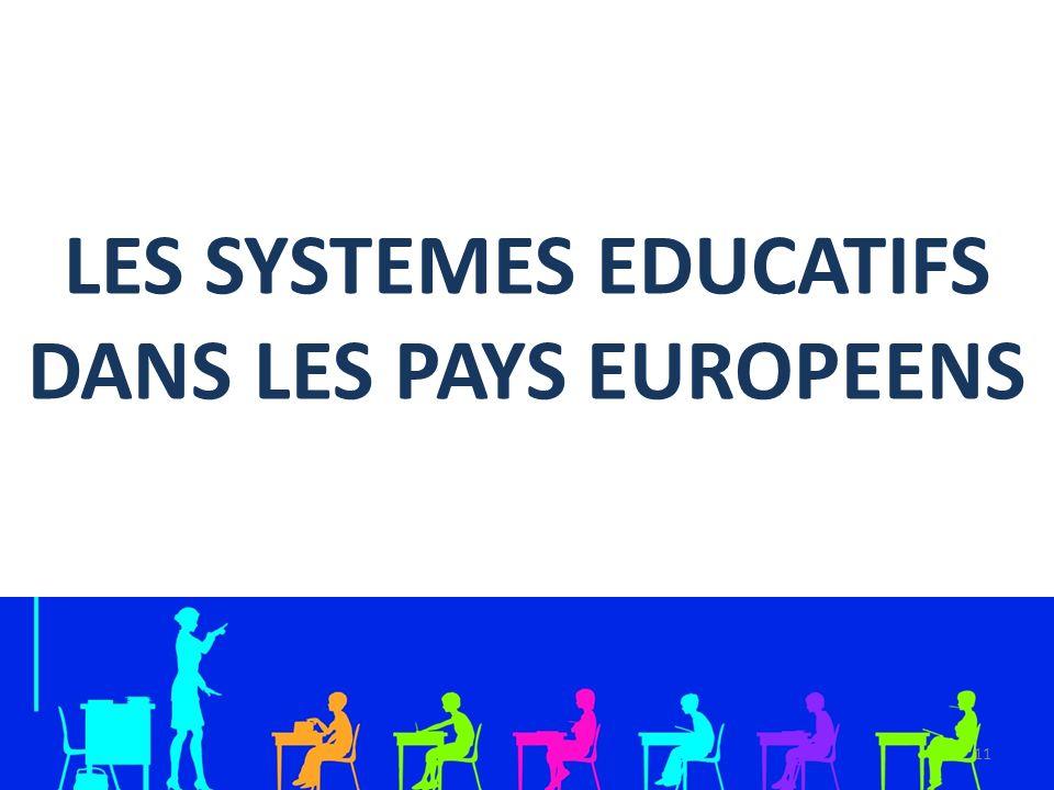 LES SYSTEMES EDUCATIFS DANS LES PAYS EUROPEENS 11