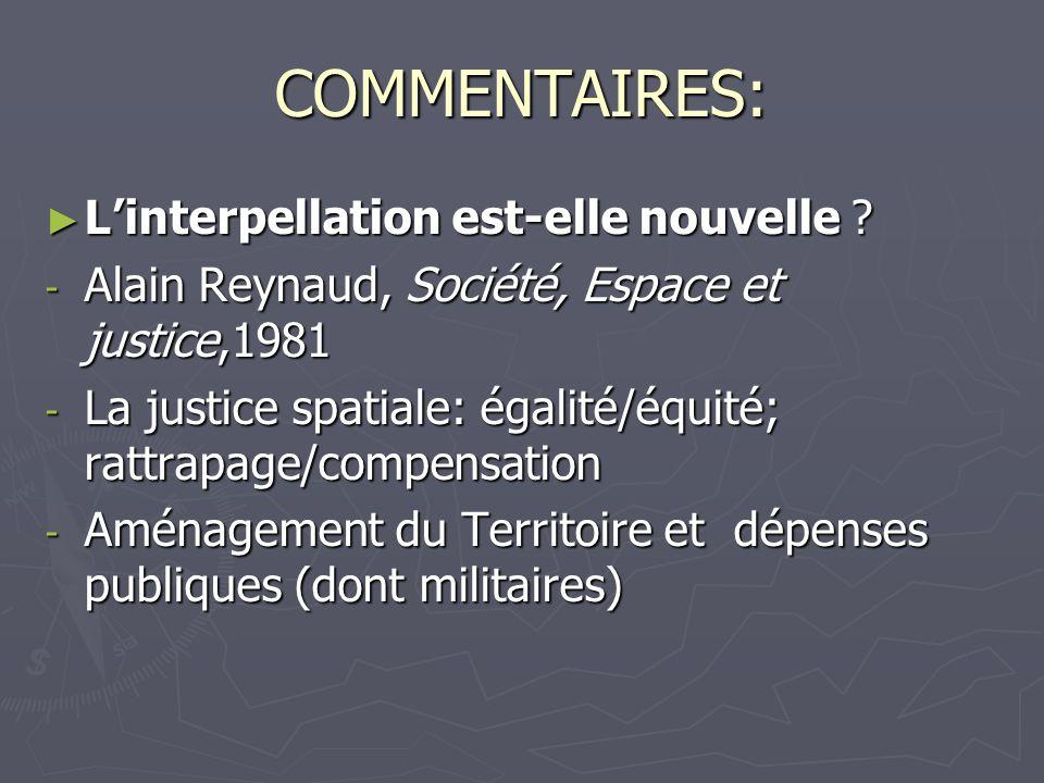 COMMENTAIRES: Linterpellation est-elle nouvelle ? Linterpellation est-elle nouvelle ? - Alain Reynaud, Société, Espace et justice,1981 - La justice sp