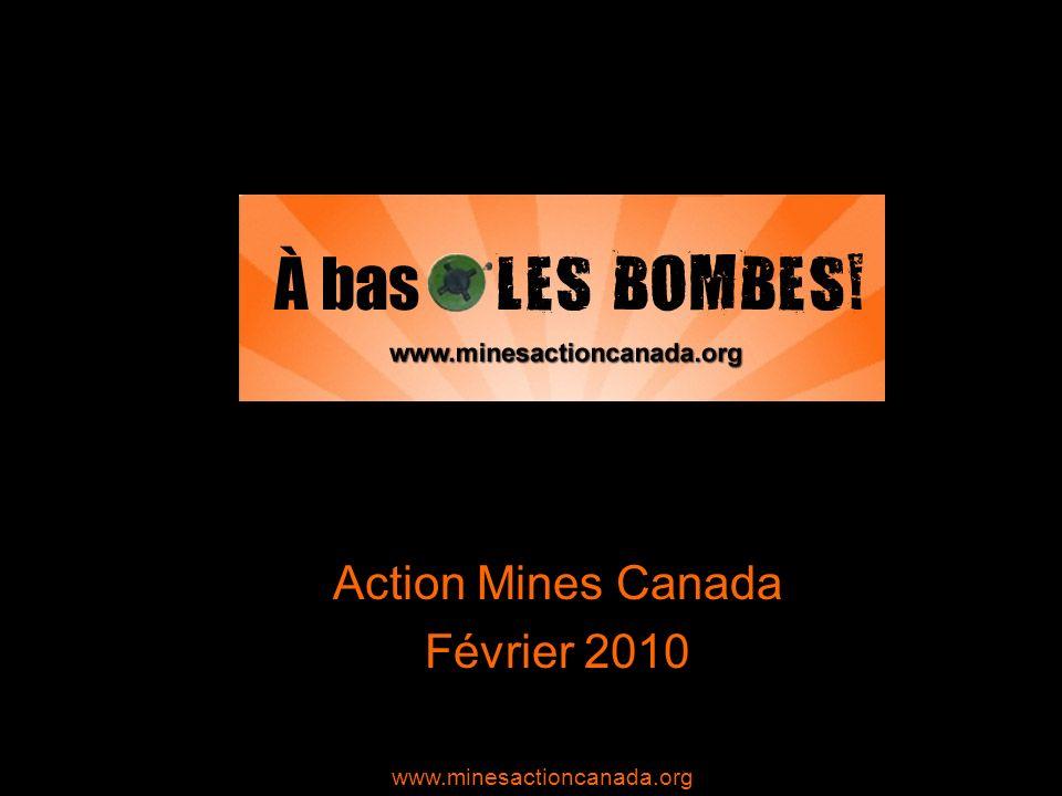 La Semaine canadienne daction contre les mines antipersonnel (SCAMA) La 11 e édition de la SCAMA se déroulera du 22 février au 1 er mars 2010.
