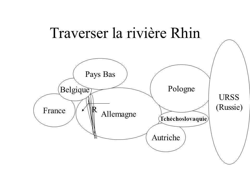 Hitler décide de traverser la rivière Rhin…