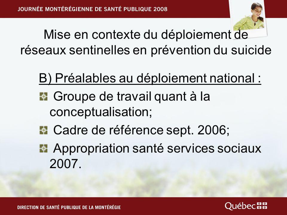 État de situation La population du Bas-Richelieu sélève à 50 997 personnes (ISQ, 2007); Cest 87% de la population qui est âgée de 15 ans et plus dont 11 % chez les 15 à 24 ans; Elle est composée de 49% dhommes et de 51% de femmes; En Montérégie le suicide se situe à 15 pour 100 000 (2004); En moyenne pour les trois dernières années dans le Bas-Richelieu, le suicide se situe à 20 pour 100 000.