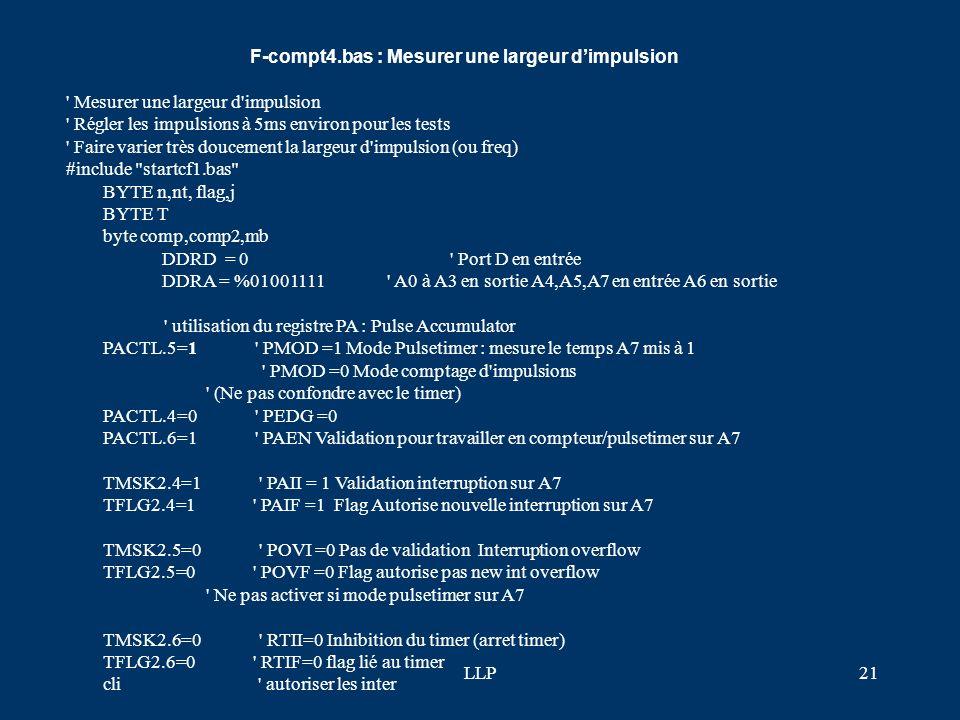 LLP20 lcdinit() print