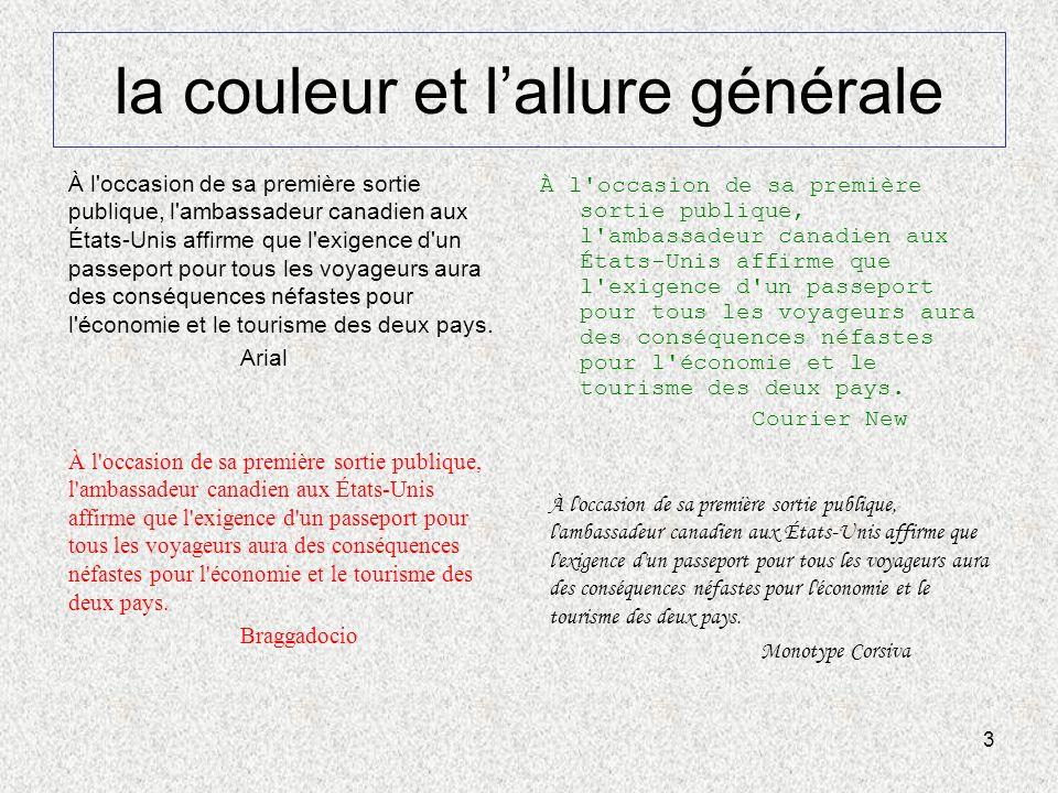 14 Dix points importants d une page (3/3) Légendes Ajoutez toujours des légendes pour souligner la pertinence déléments visuels adjacents.