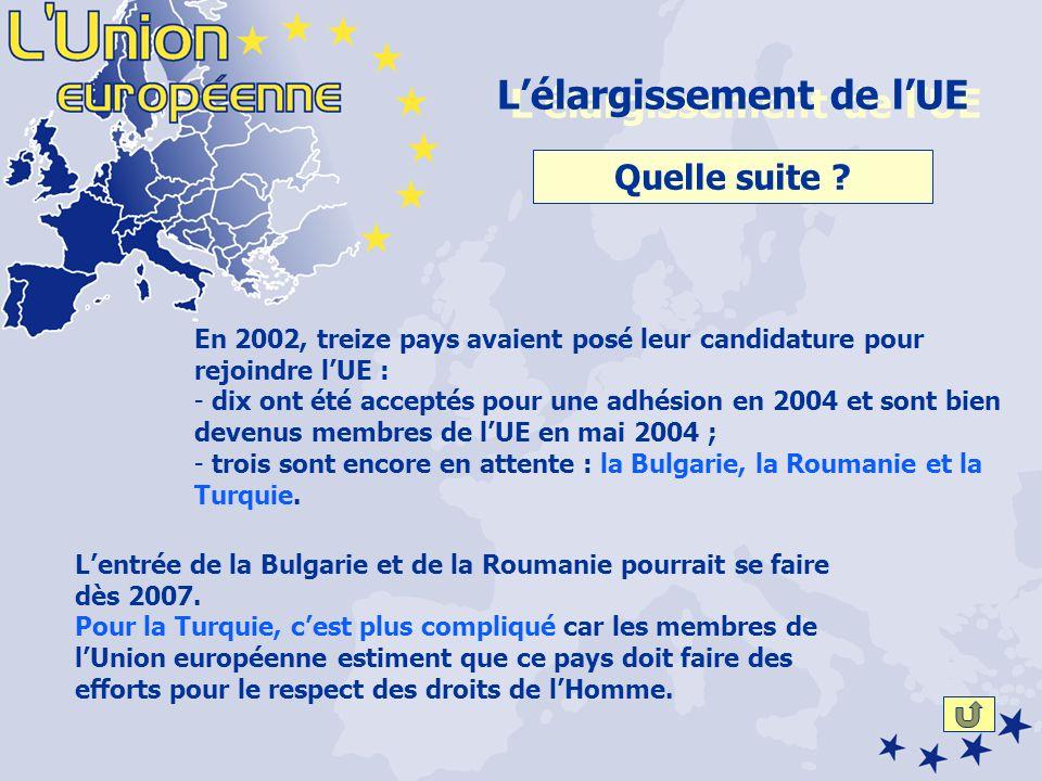Lentrée de la Bulgarie et de la Roumanie pourrait se faire dès 2007.