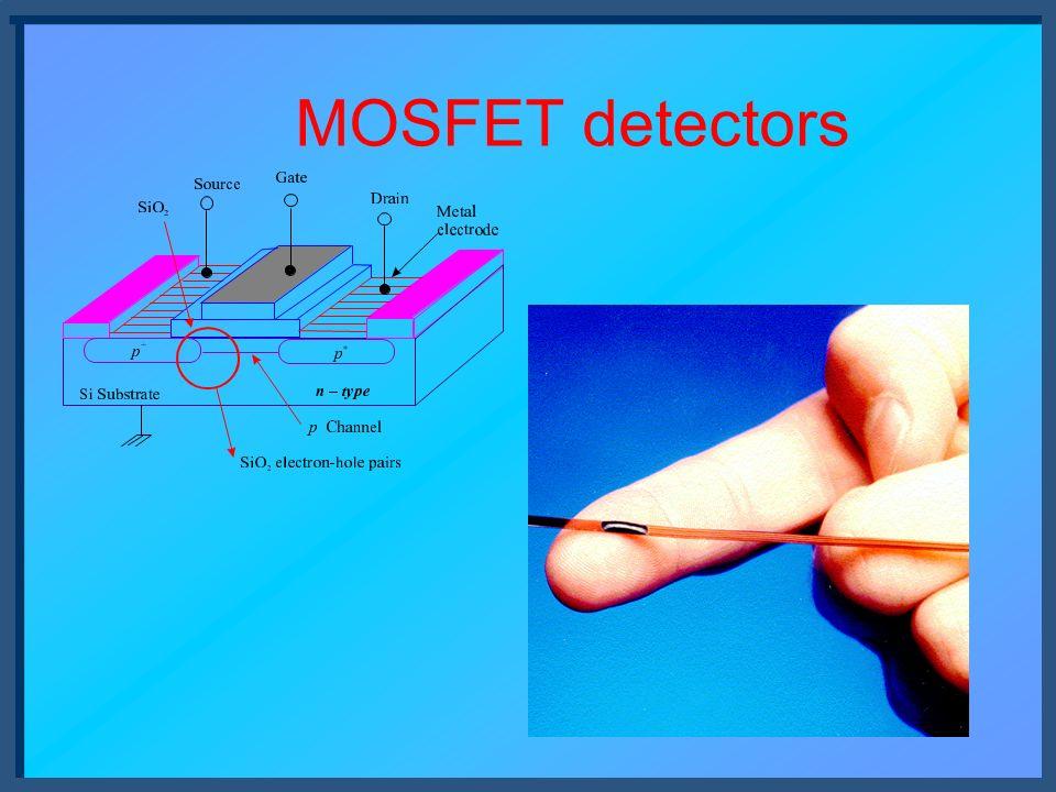 MOSFET detectors