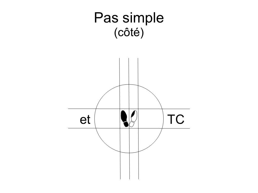 Pas simple (côté) etTC