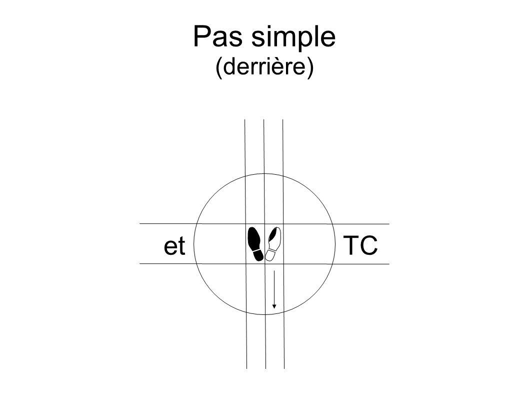 Pas simple (derrière) etTC