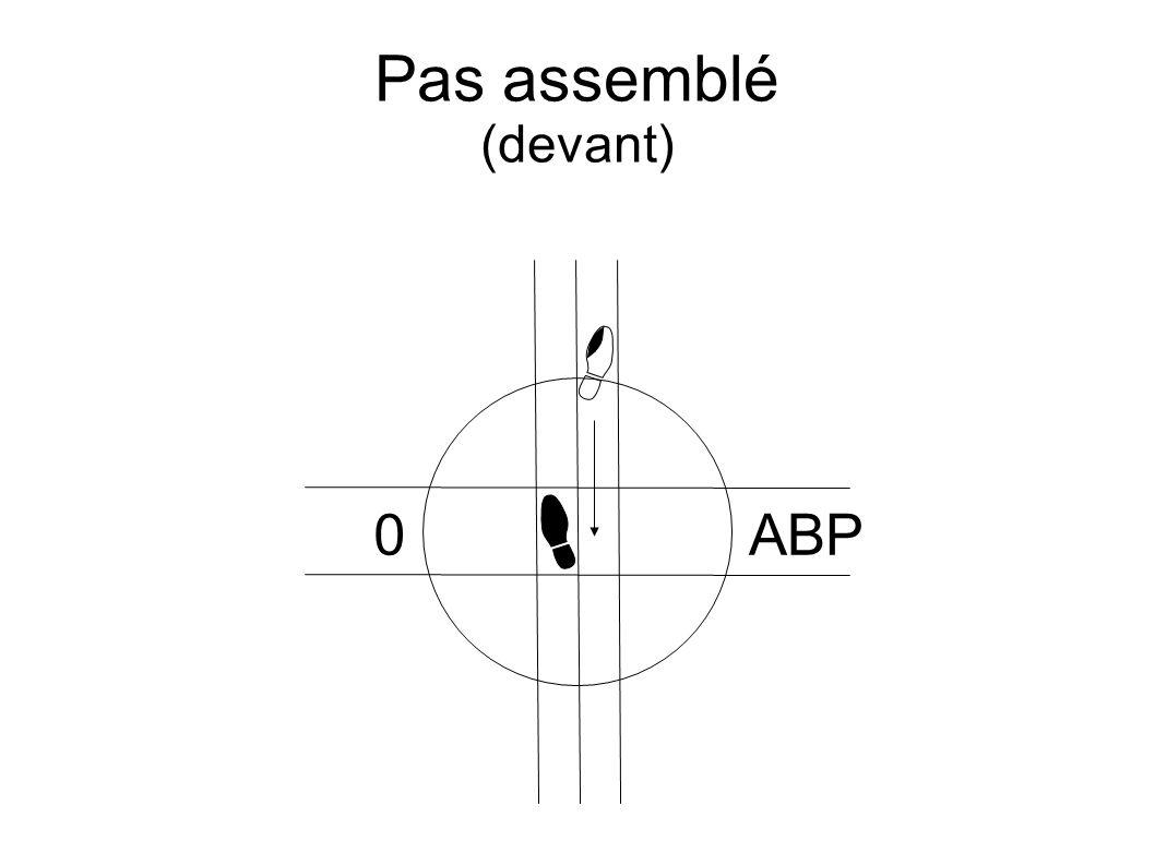 Pas assemblé (devant) 0ABP