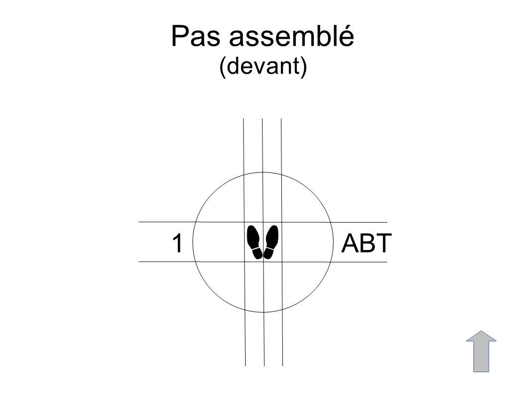 Pas assemblé (devant) 1ABT
