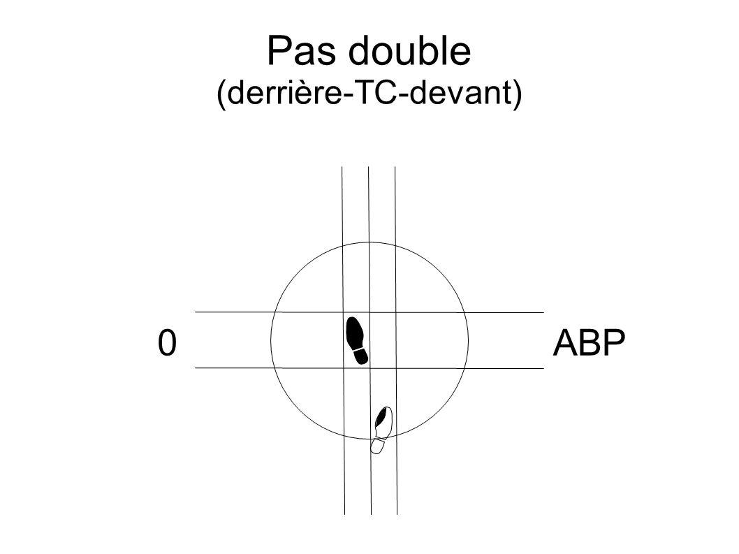 Pas double (derrière-TC-devant) 0ABP