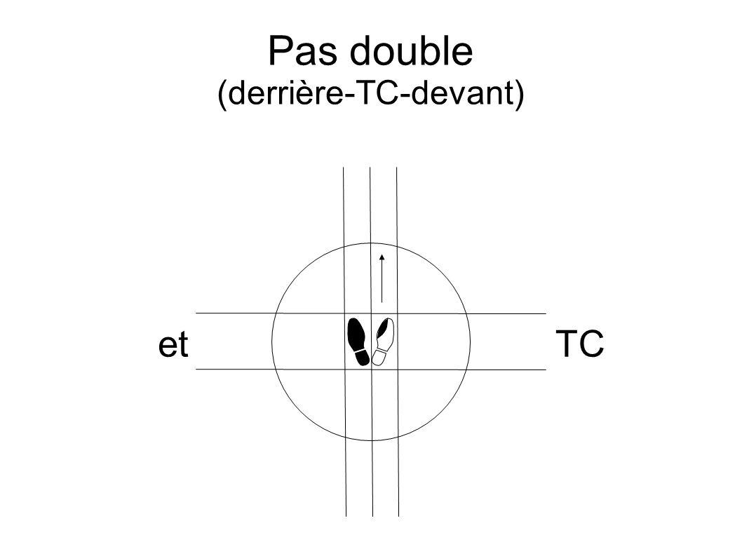 Pas double (derrière-TC-devant) etTC