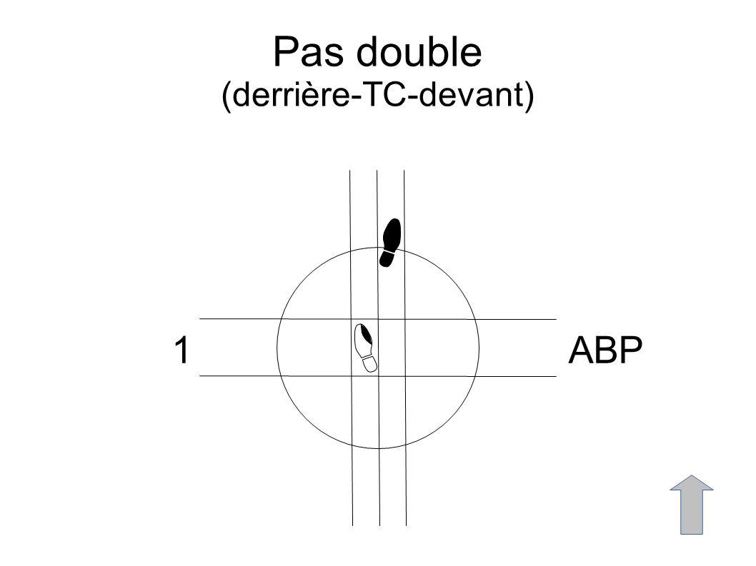 Pas double (derrière-TC-devant) 1ABP