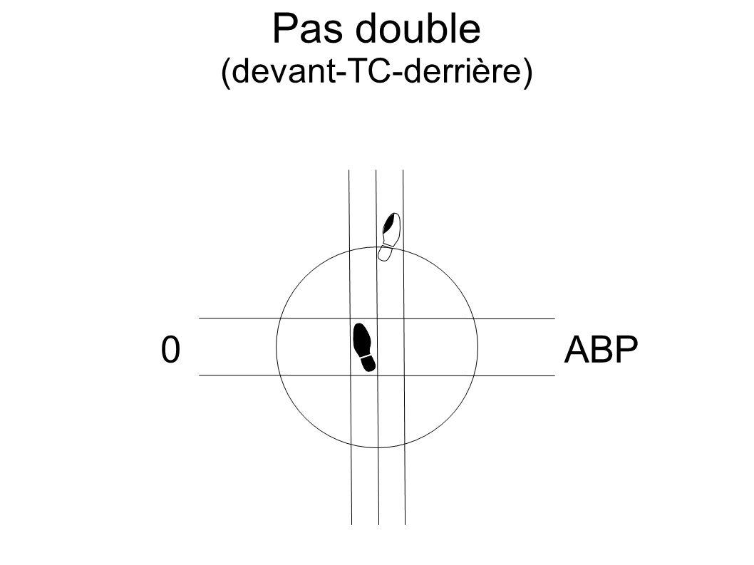 Pas double (devant-TC-derrière) 0ABP