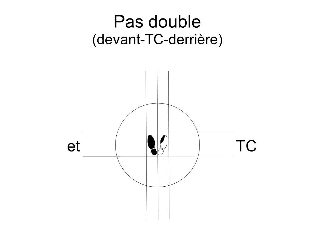 Pas double (devant-TC-derrière) etTC