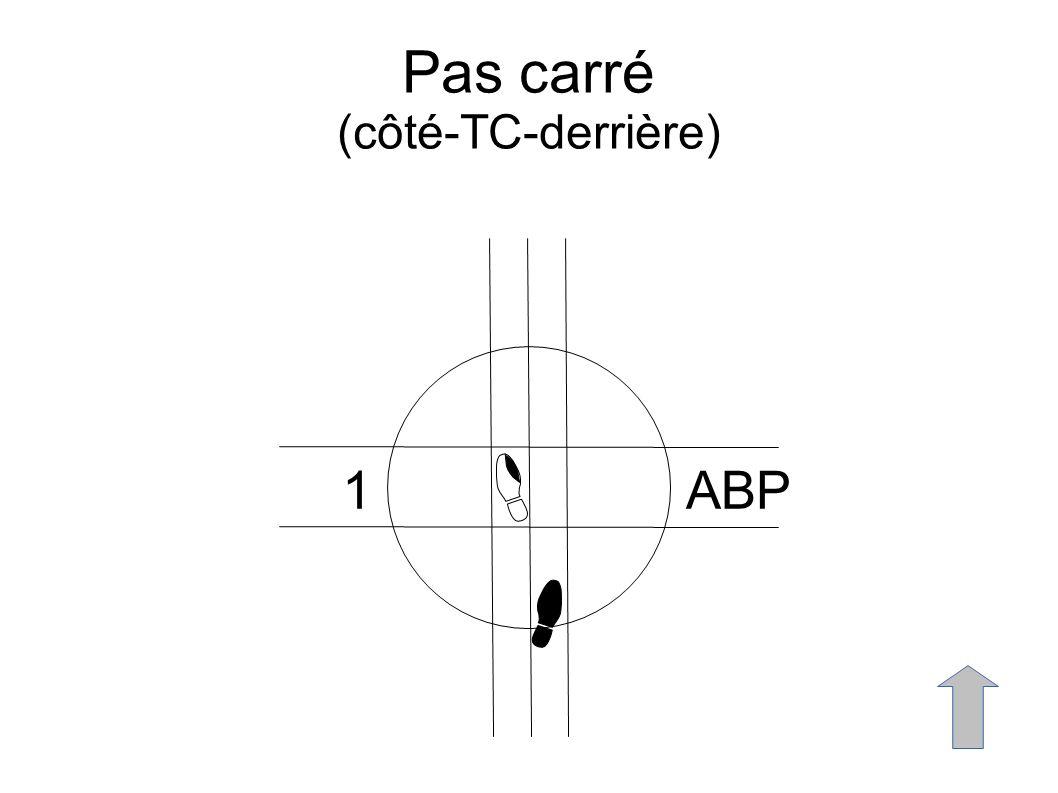 Pas carré (côté-TC-derrière) 1ABP