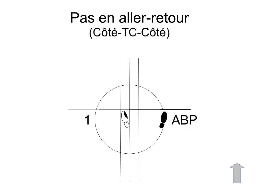 Pas en aller-retour (Côté-TC-Côté) 1ABP