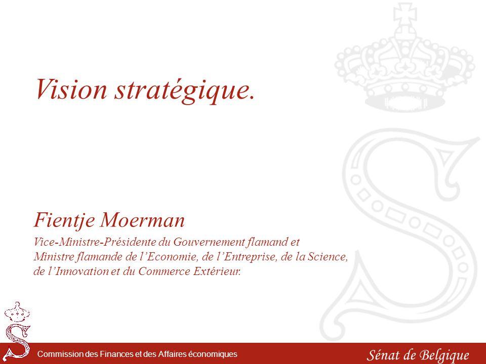 Sénat de Belgique Commission des Finances et des Affaires économiques Réception de clôture.