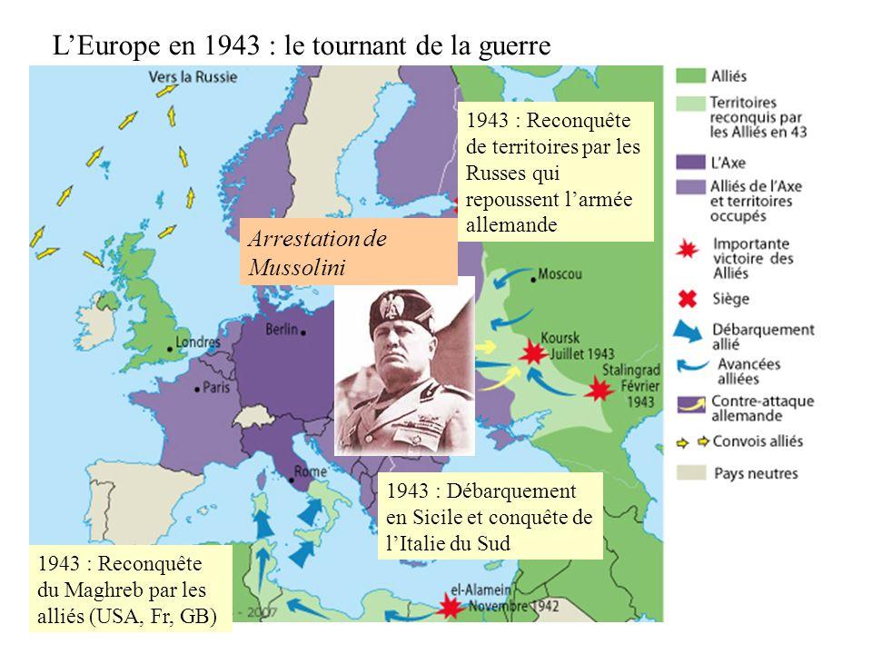 Les débarquements alliés 1.En Afrique du Nord (1942) 2.