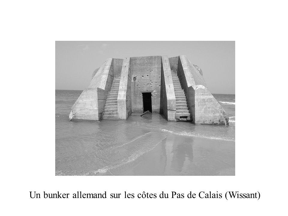 Un bunker allemand sur les côtes du Pas de Calais (Wissant)