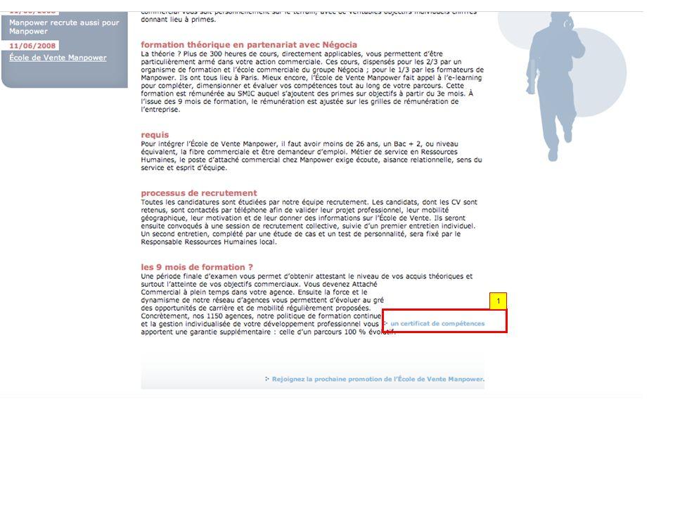 1.Si jinsère un lien dans la page, il prend la forme du lien en bas.