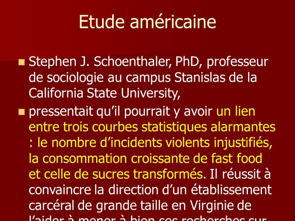 Etude américaine Stephen J.