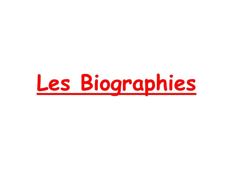 Les Biographies