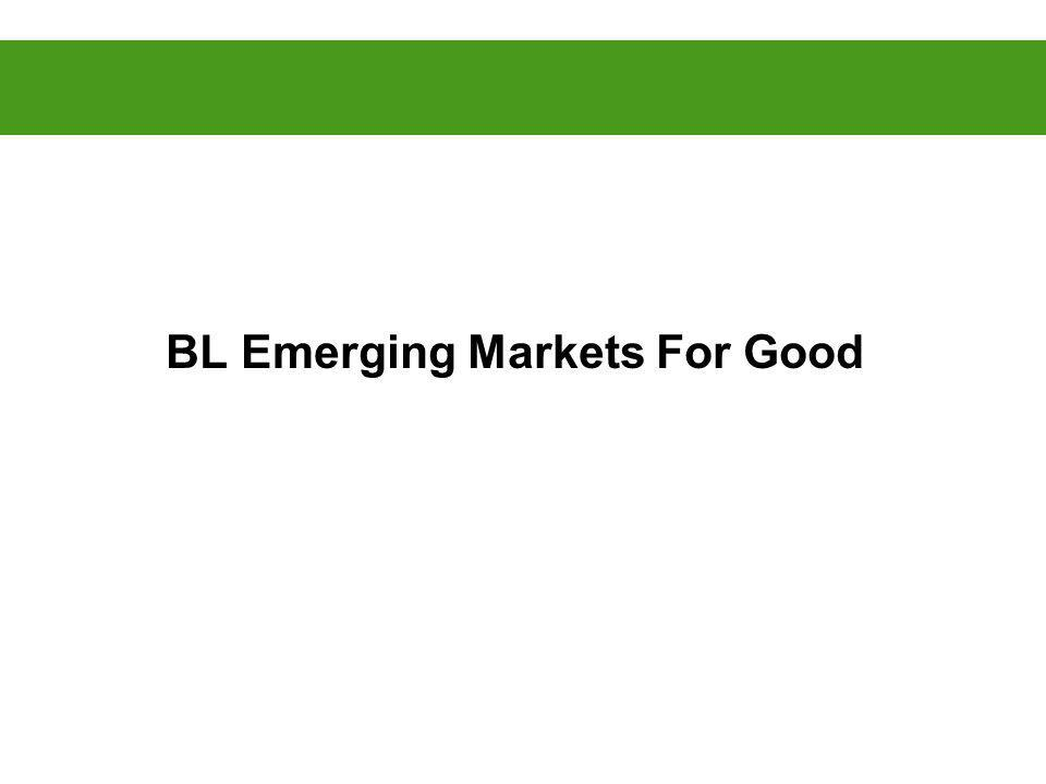 BL Emerging Markets For Good
