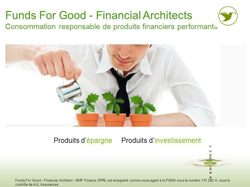 AGENDA 1.Présentation Funds For Good 2. Point macro-économique 3.