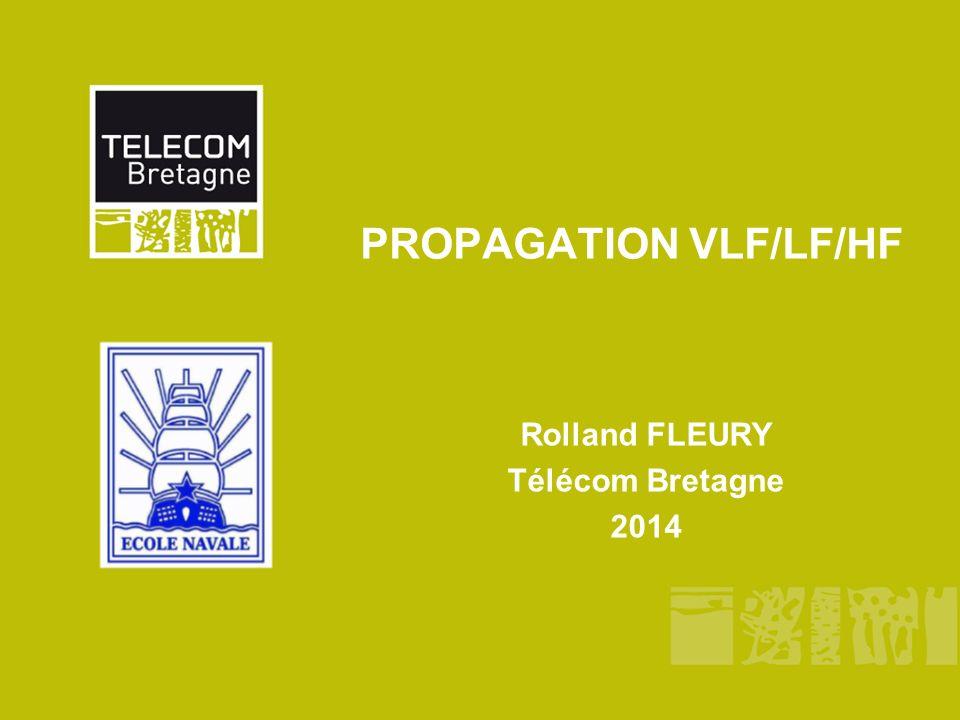 Télécom Bretagne/Dépt. MOpage 1 Spectre radioélectrique Bandes VLF-LF-MF-HF