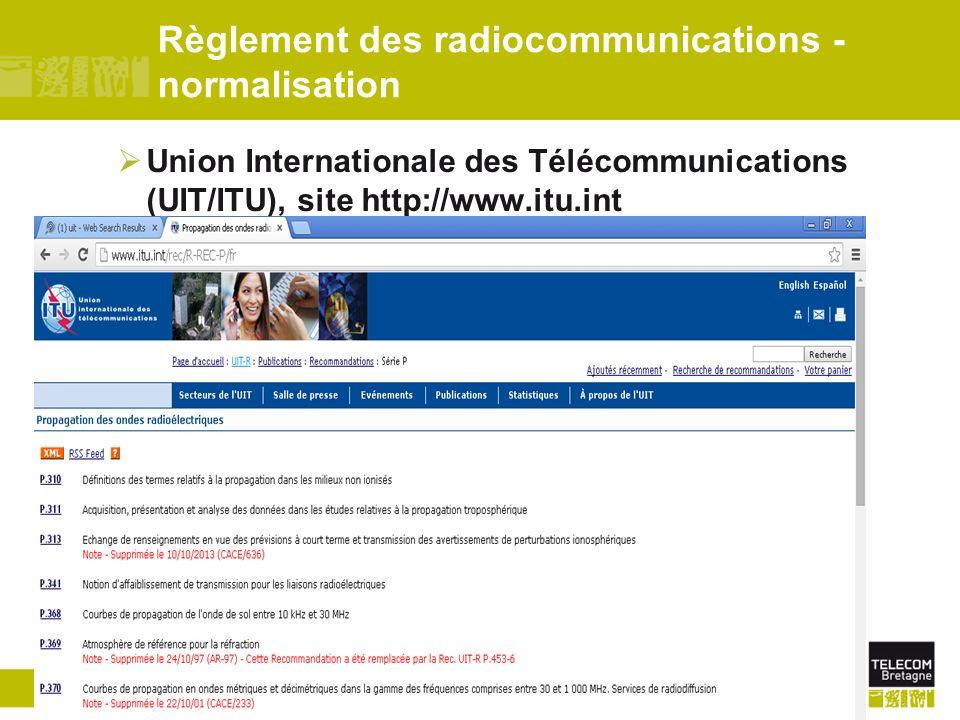 Télécom Bretagne/Dépt. MOpage 73 Logiciel de prévisions SATIS Différents modes de propagation