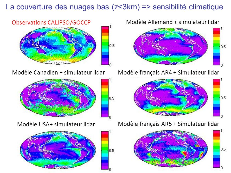Comparison Cloud climatologies CALIPSO-GOCCP vs CALIPSO-ST Chepfer, Cesana, Winker, Gezewitch, Vaughan, submitted, JAOT