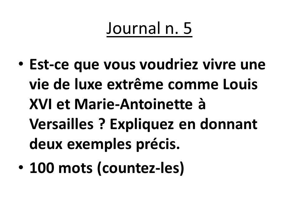 Journal n.