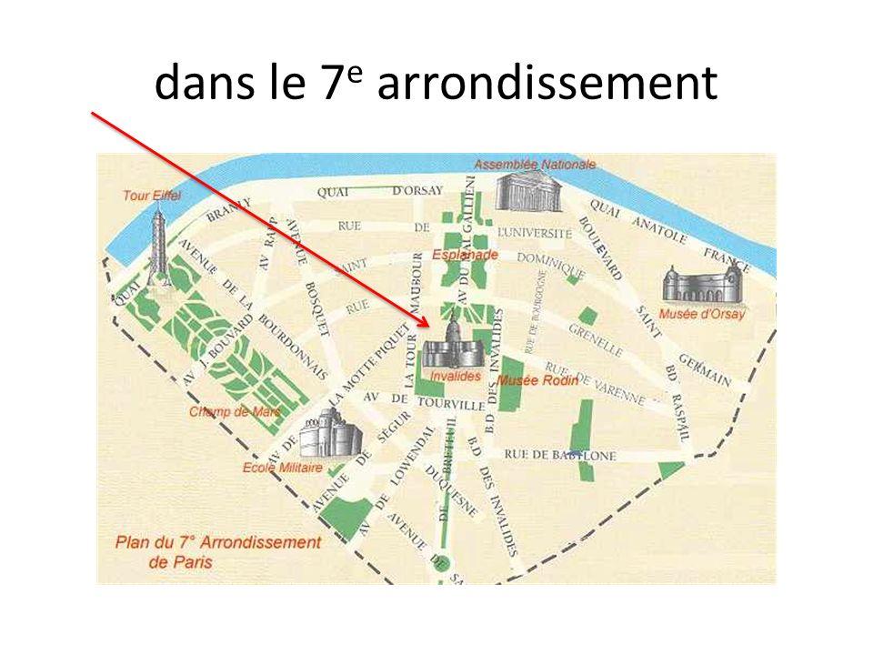 dans le 7 e arrondissement