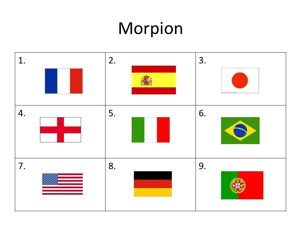 Morpion 1.2.3. 4.5.6. 7.8.9.