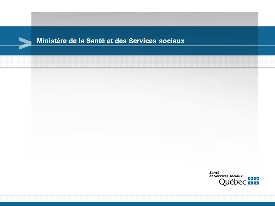 Ministère de la Santé et des Services sociaux