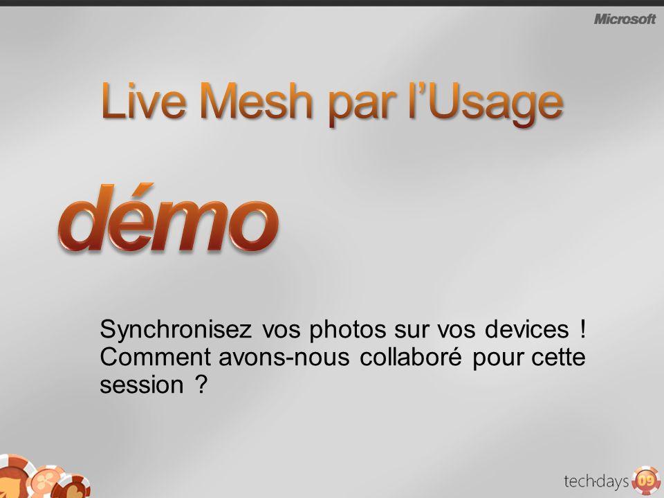 Synchronisez vos photos sur vos devices ! Comment avons-nous collaboré pour cette session