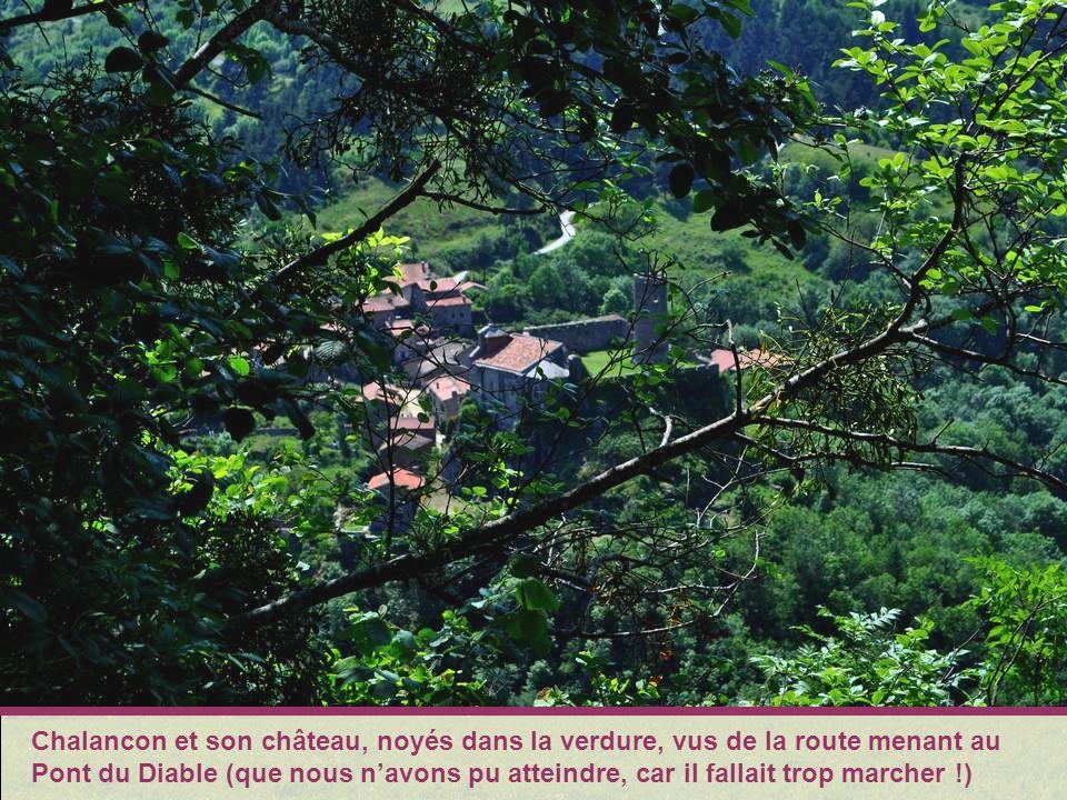 Au Villard évocation des vacances dYvonne durant son enfance.