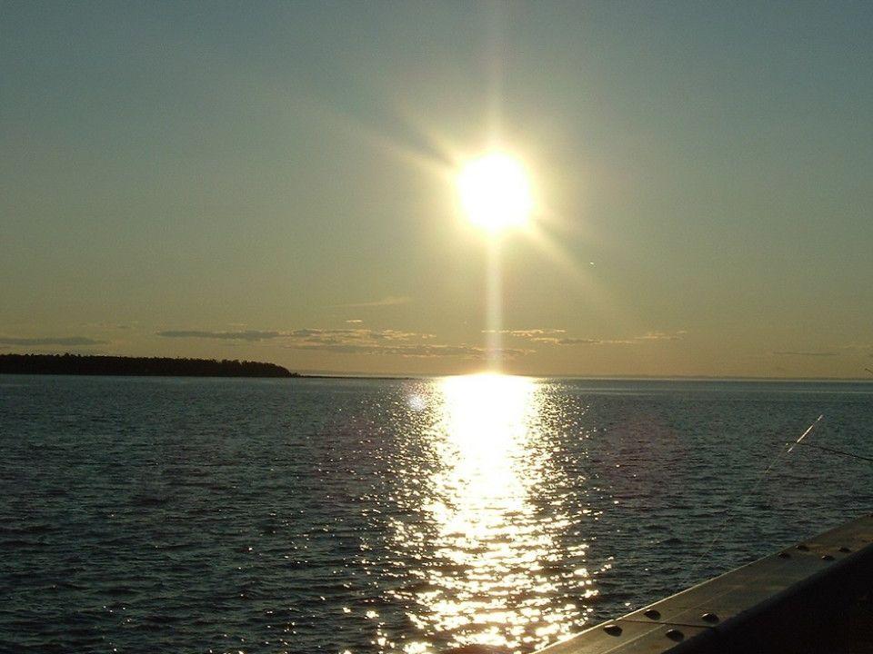 Coucher de soleil à Rimouski